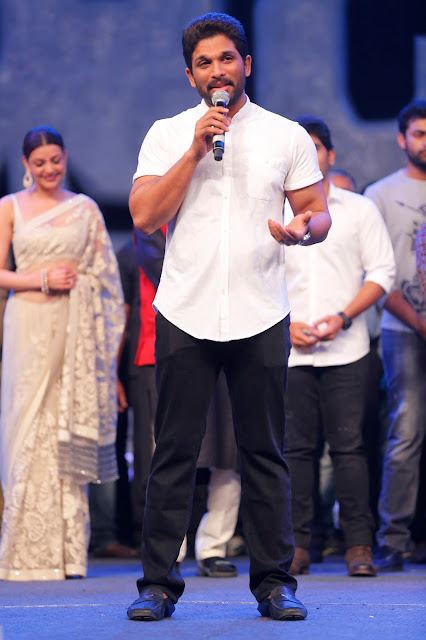 Allu Arjun at Khaidi No 150 Pre Release Function