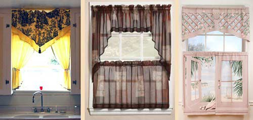 The best curtain designs and ideas for kitchen 2018 - Top tips