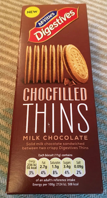 McVities Digestives ChocFilled Thins