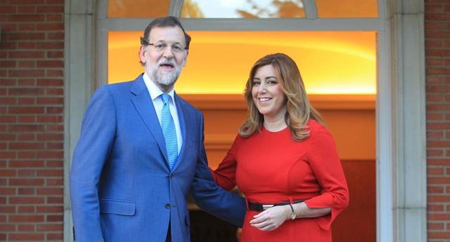 Rajoy y Susana Díaz