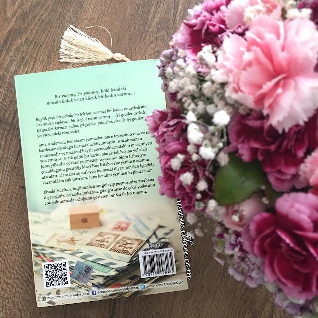 Goodnight June - Elveda Haziran kitabı Arkadya yayınları