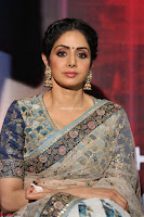 Sri Devi in designer saree stunning beauty at the launch of MOM movie Trailer~  Exclusive 030.JPG
