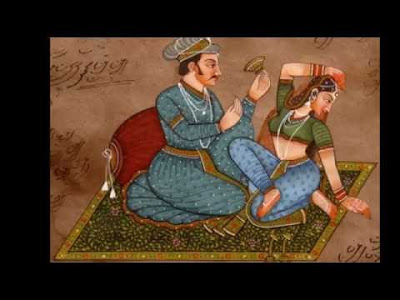 Kama-Arts-Rare-Historical-Paintings-of-Ancient-Mughal's-Harem-16-17-th-Century1