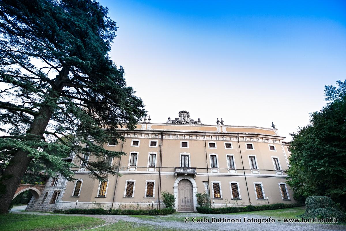 Fotografo matrimonio Villa Suardi