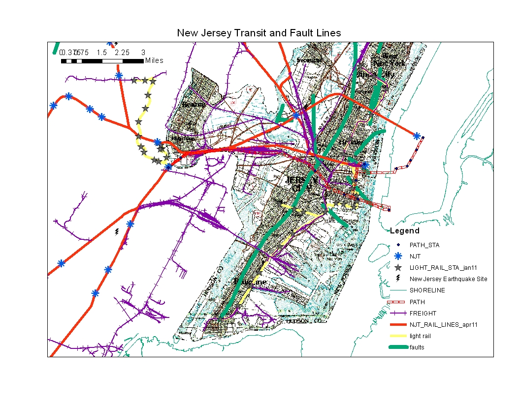 Streetcars and Spatial Analysis: It's Not My Fault! New Jersey Fault