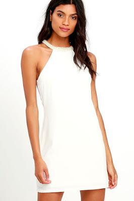 Vestidos blancos para señoras
