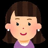 女性の顔アイコン 9