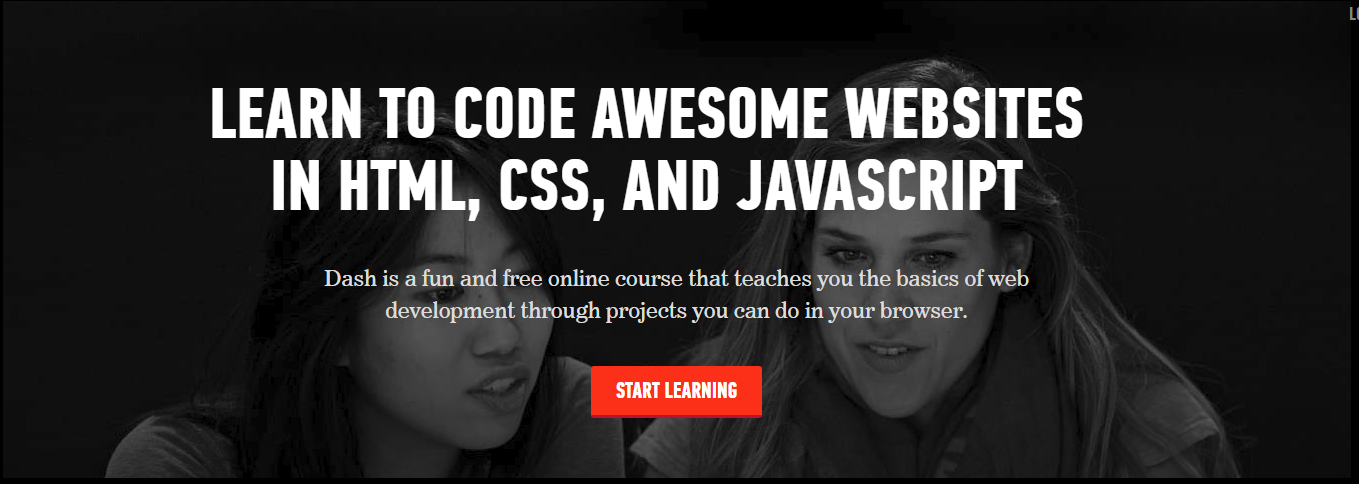 LEARN TO CODE AWESOME WEBSITES IN HTML, CSS, AND JAVASCRIPT [100