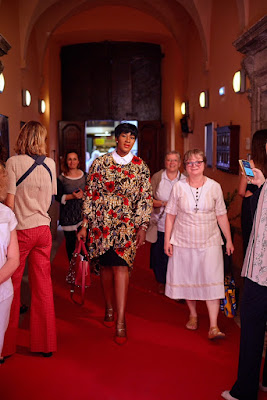 PHOTOS: Stephanie Linus Attends The 'Dialoghi in Spoleto' & Carla Fendi Foundation event In Italy