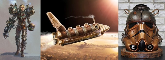Спейспанк spacepunk