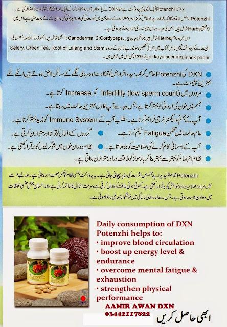 potenzhi in urdu