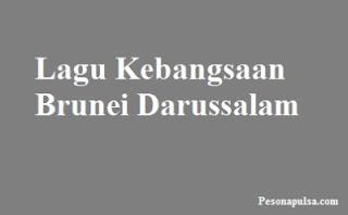 Lagu Kebangsaan Brunei Darussalam