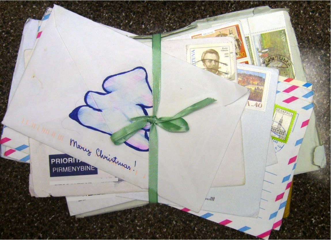 Letters from Operation Christmas Child recipients