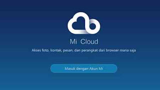 akun Mi cloud