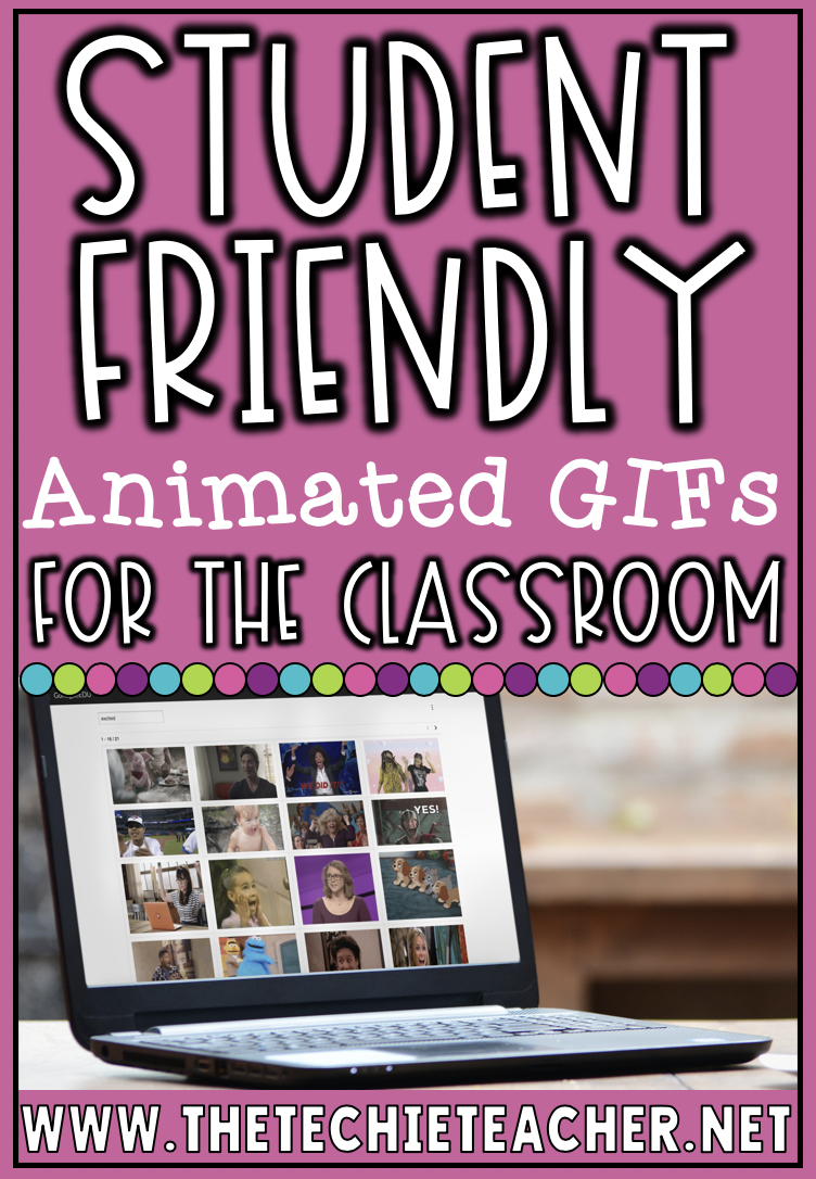 Students can now find child friendly animated gifs in a safe search environment using Gif4Kids. They can add gifs to all sorts of projects!