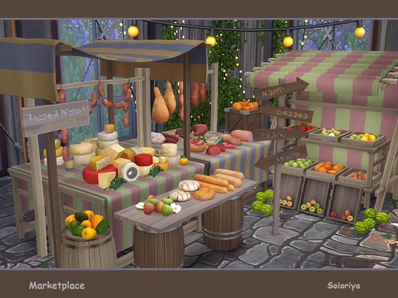 soloriya: Marketplace  Sims 4