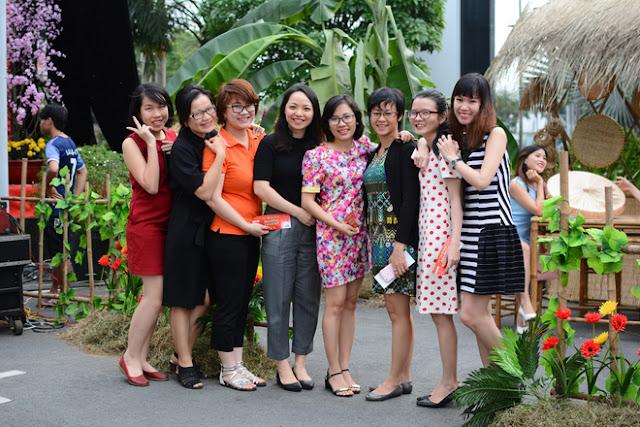 Cán Bộ CNV FPT Hồ Chí Minh Nô Nức Tham Gia Hội Làng 6