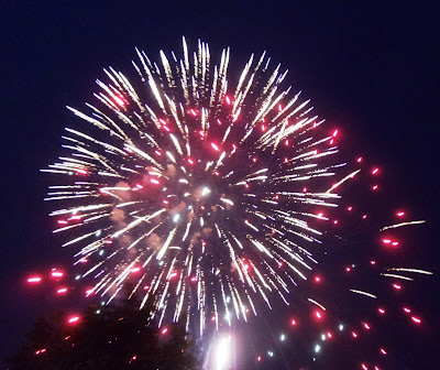 July 4 fireworks in Manassas