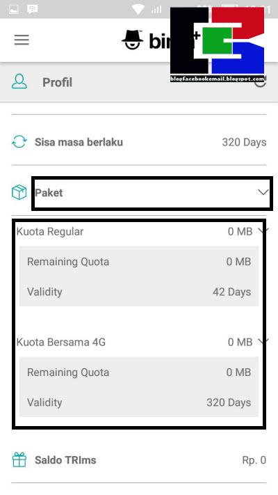 3 Cara Cek Sisa Kuota / Data Internet Kartu 3 (Tri