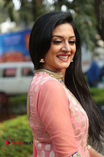 Actress Vimala Raman Stills in Beautiful Pink Salwar Kameez at (ONV) Om Namo Venkatesaya Press Meet  0204.JPG