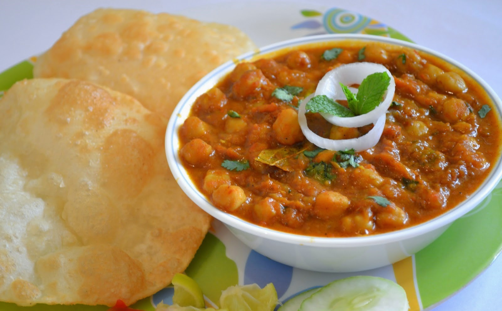 Chole bhature from imperial inn imperial inn food recipe blog chole bhature forumfinder Gallery