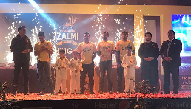 Peshawar Zalmi Introduce New Special Kits For PSL 2017