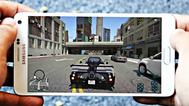 Download New !! GTA V Android 300MB Graphics HD GTA San Andreas MOD