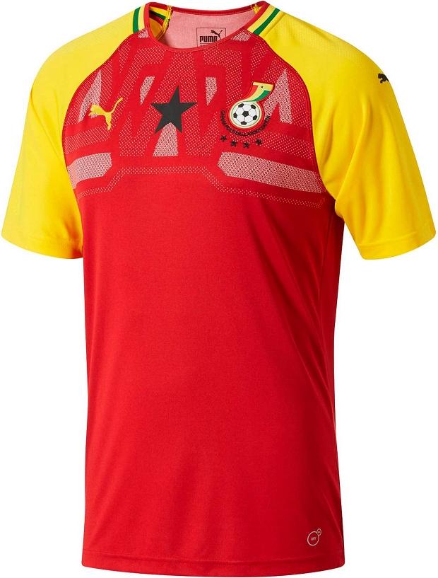 Puma lança nova camisa titular da seleção de Gana - Show de Camisas 3c847b955b082