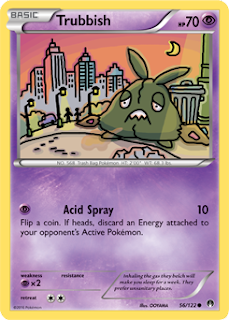 Trubbish BREAKpoint Pokemon Card