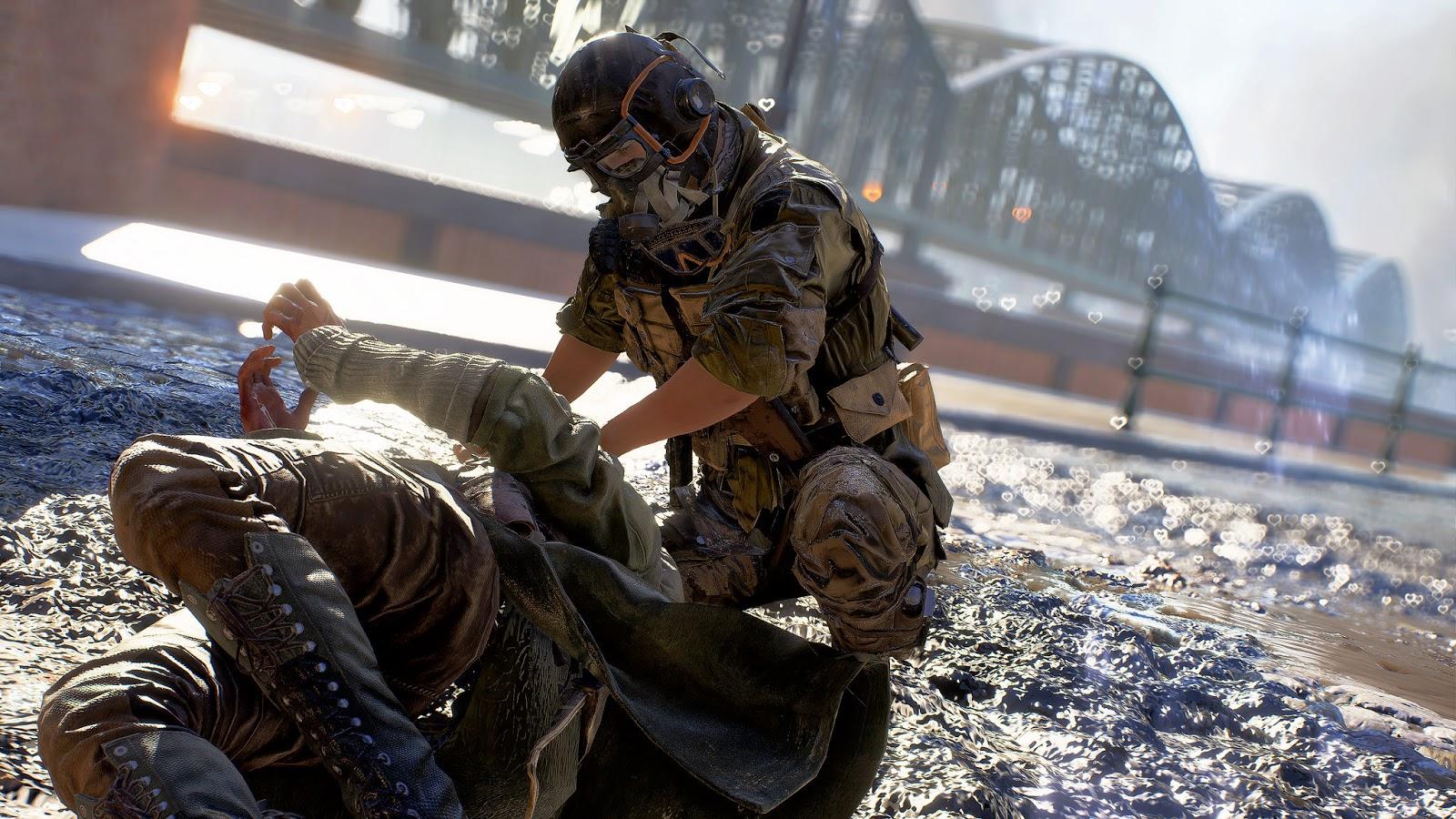 Recurso de arrastamento de corpo para o Battlefield V é cancelado pela DICE