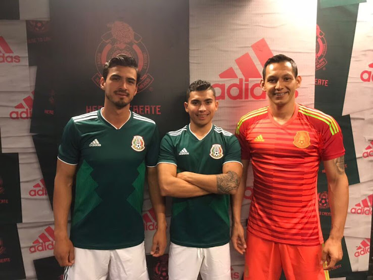 The new Mexico 2018 World Cup goalkeeper jersey was officially revealed  yesterday night together with the new Mexico 2018 World Cup home shirt. 08e95350f3d2