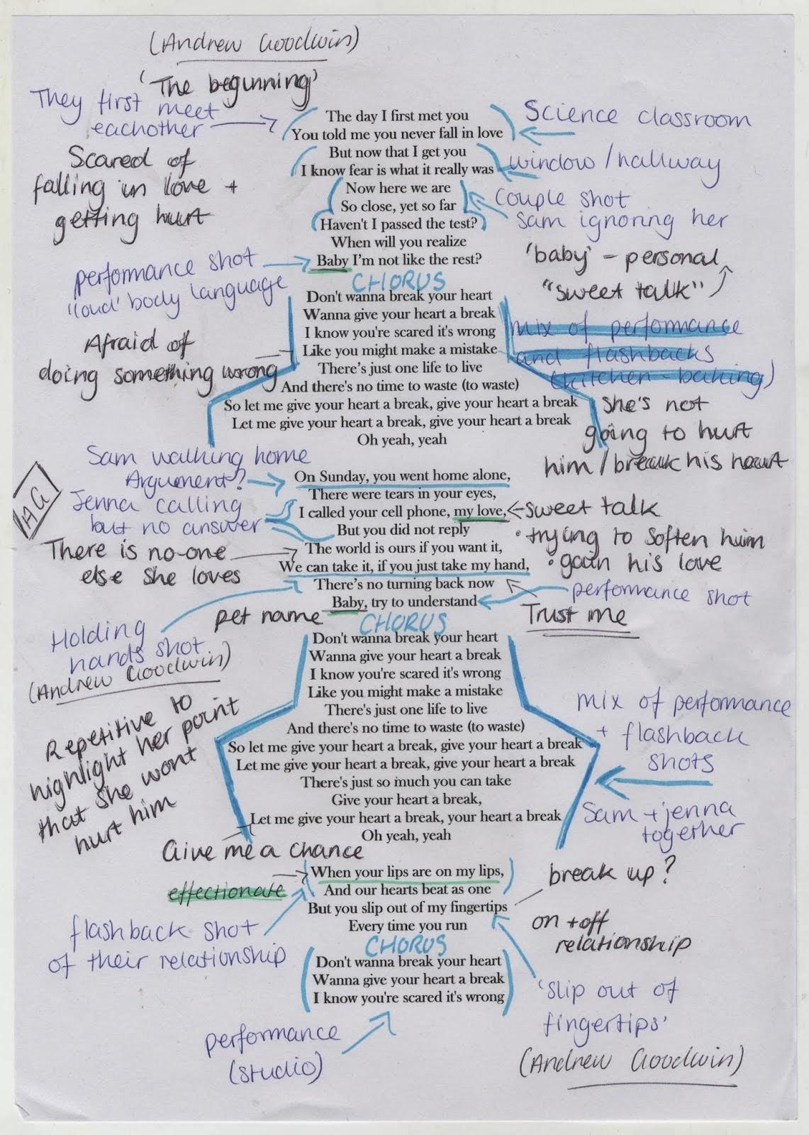 a2 hannah clorley media blog analysis of song lyrics task 13. Black Bedroom Furniture Sets. Home Design Ideas