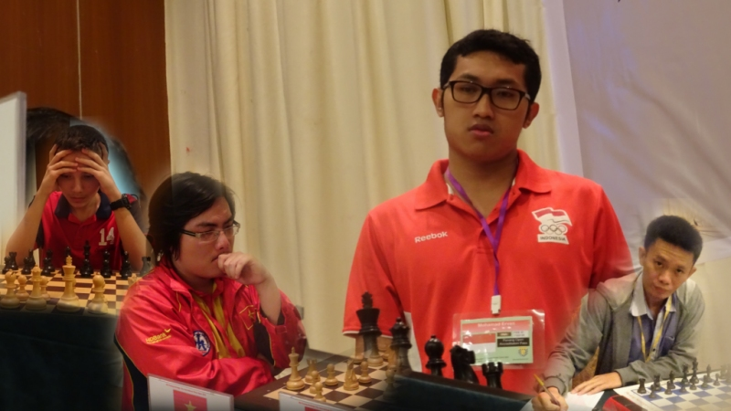 FM Erwan sole leader after 6 rounds