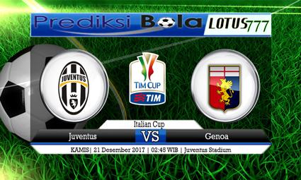 PREDIKSI SKOR Juventus vs Genoa 21 Desember 2017