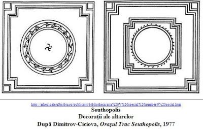 Seuthopolis - Decoratie a altarelor