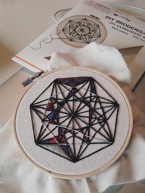 フライングタイガーの刺繍キット