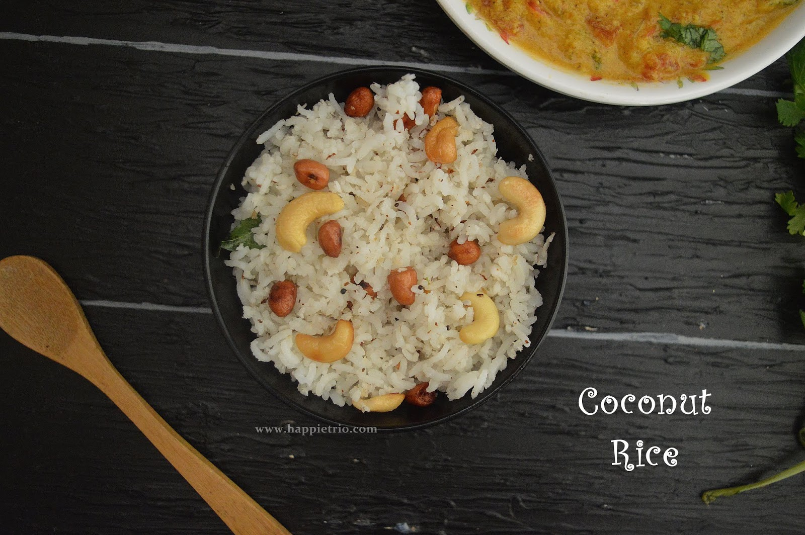 Coconut Rice | Thengai Sadham | Easy Lunch Box Recipes