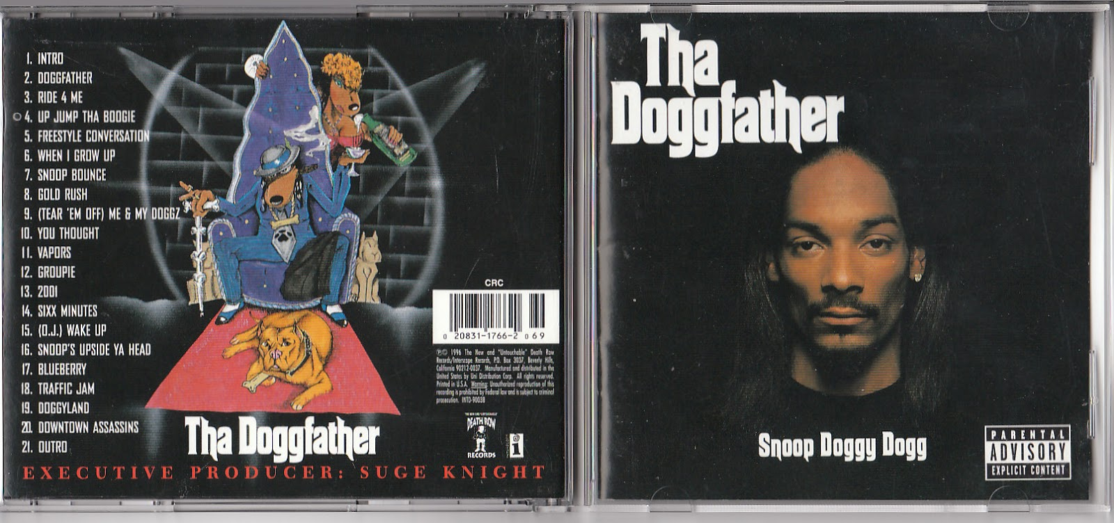Collection '45 [_: Snoop Doggy Dogg - Tha Doggfather - 1996 (Long