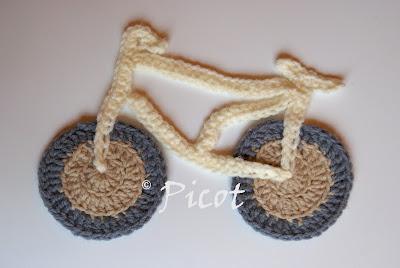 Rower szydełkowy