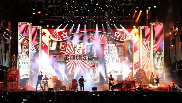 Éxito rotundo de Ricardo Arjona con la presentación de Circo Soledad en su gira por Costa Rica y Panamá