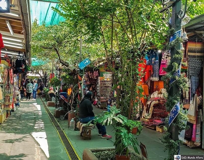 Feira de Santa Lucia em Santiago - Diário de Bordo Chile: 8 dias em Santiago e arredores