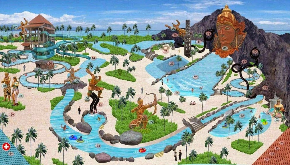Tiket Masuk Pandawa Water World Solo