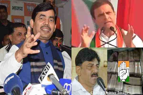 shahnawaz-hussain-ask-congress-to-tell-source-of-10-crore-it-raid
