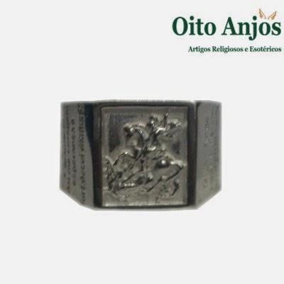 Anel São Jorge| Oito Anjos Artigos Religiosos e Loja Esotérica
