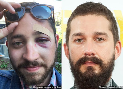New York man gets punched in the face for looking exactly like actor Shia LaBeouf