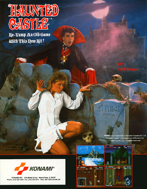 Haunted Castle arcade game