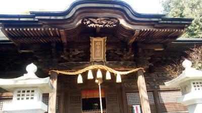 青梅市の神社 住吉神社 社殿