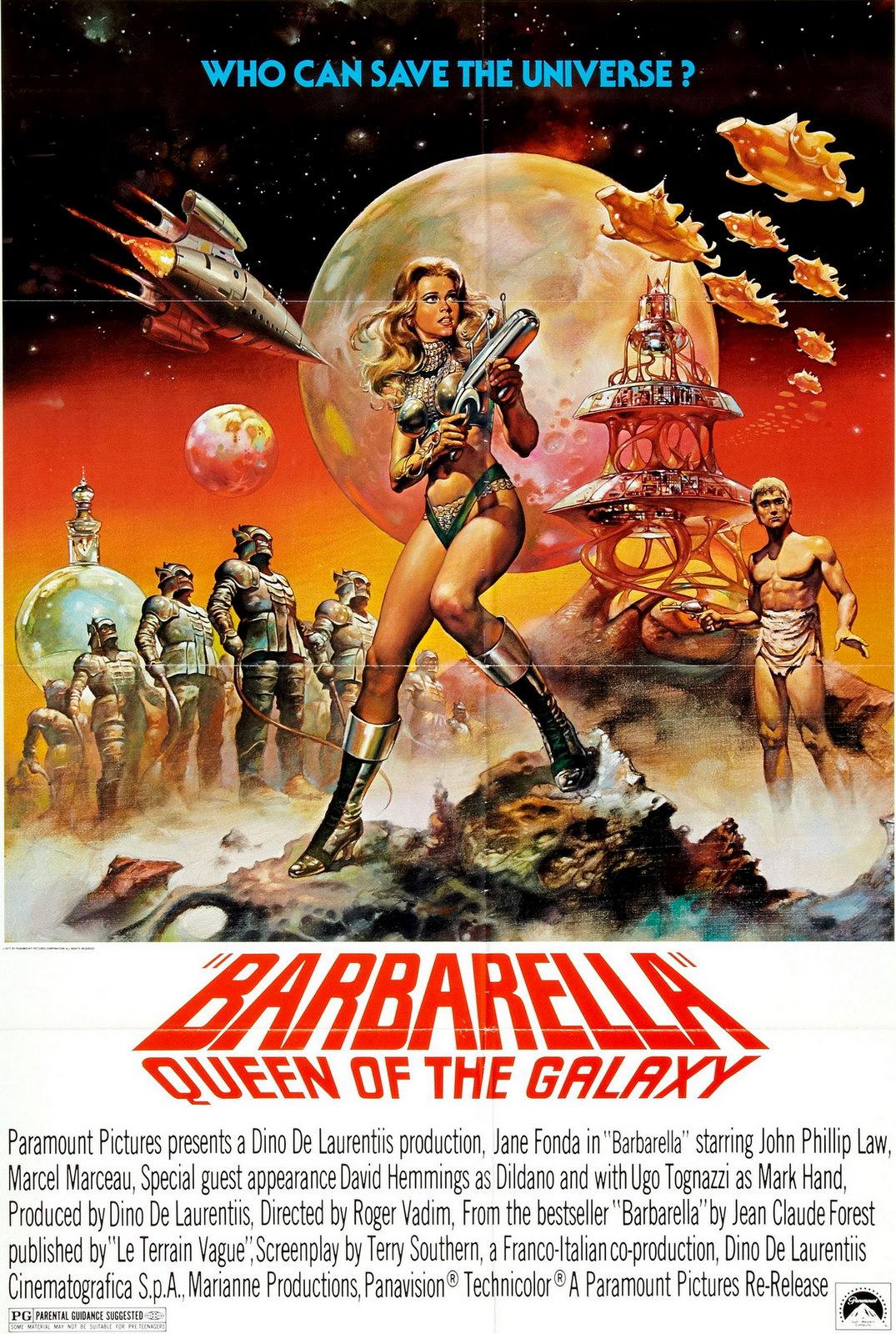 barbarella movie posters vintage arts gallery