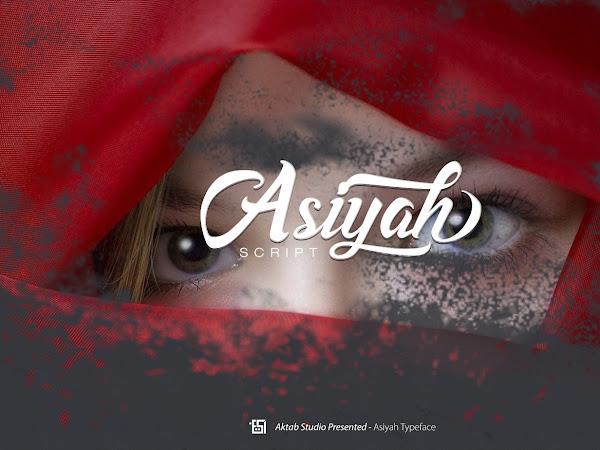 Download Asiyah Script Font Free