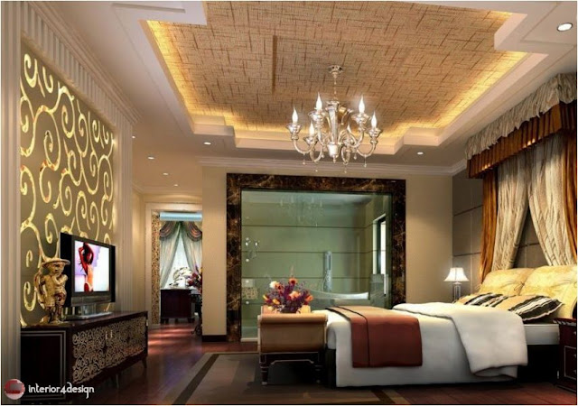Gypsum Bedroom Designs 3